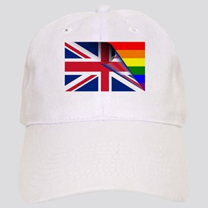 U.K. Gay Pride Rainbow Flag Hat