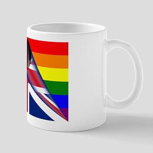 U.k. Gay Pride Rainbow Flag Mugs