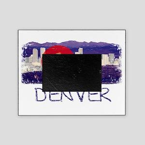 DenverSkylineCoFlag Picture Frame