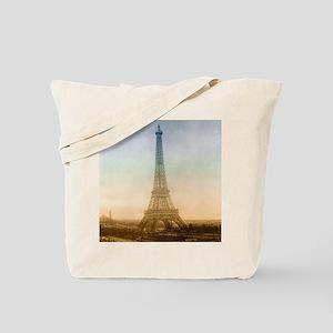 The Eiffel Tower In Paris Tote Bag