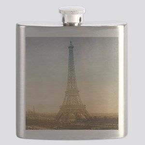 The Eiffel Tower In Paris Flask