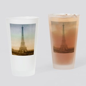 The Eiffel Tower In Paris Drinking Glass