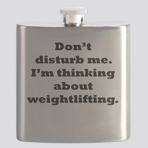Thinking About Weightlifting Flask