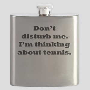 Thinking About Tennis Flask