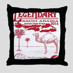 Justin Shirt Throw Pillow