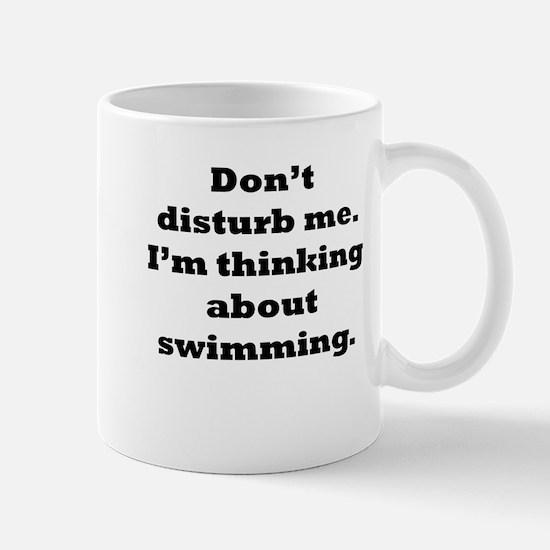 Thinking About Swimming Mugs