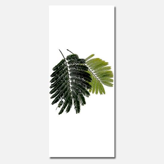 Fine Leaved Embossed Ferns Invitations