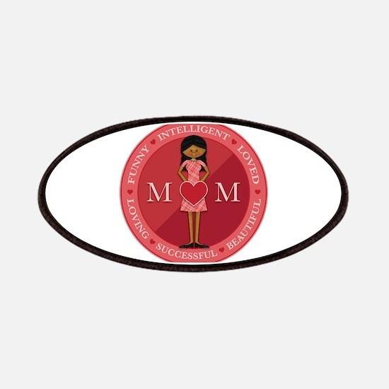 Love Mom Emblem Patches