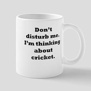 Thinking About Cricket Mugs