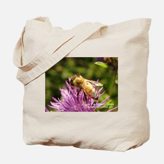 Save the Bees by SustainableHoneybees.com Tote Bag