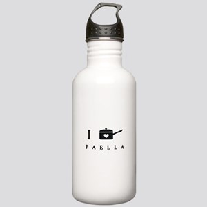 I Cook Paella Water Bottle
