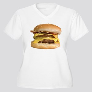 Stacked Burger Plus Size T-Shirt