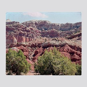 Capitol Reef National Park, Utah, US Throw Blanket
