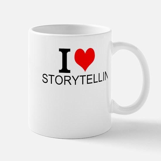 I Love Storytelling Mugs