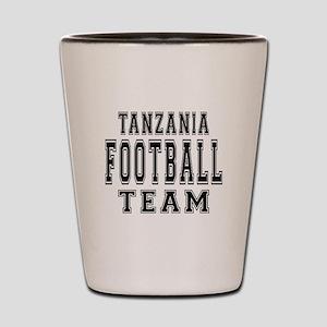 Tanzania Football Team Shot Glass