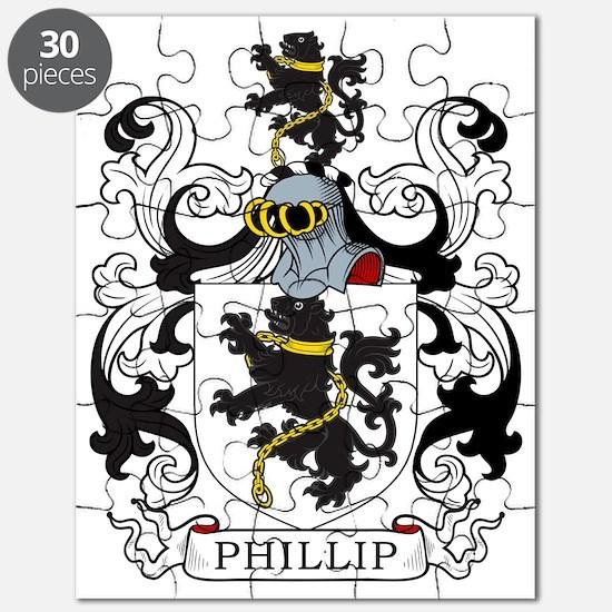 Phillip Family Crest Puzzle