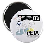 Pit Bull PETA BSL Magnet