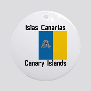 Canary Islands Round Ornament