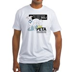 Pit Bull PETA BSL Fitted T-Shirt