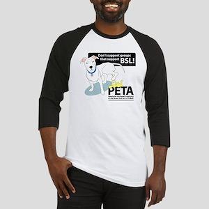 Pit Bull PETA BSL Baseball Jersey