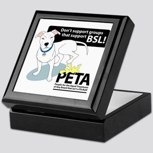 Pit Bull PETA BSL Keepsake Box