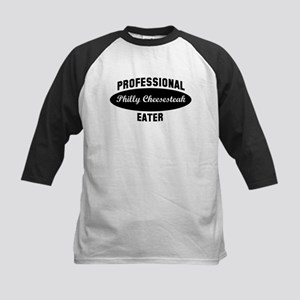 Pro Philly Cheesesteak eater Kids Baseball Jersey