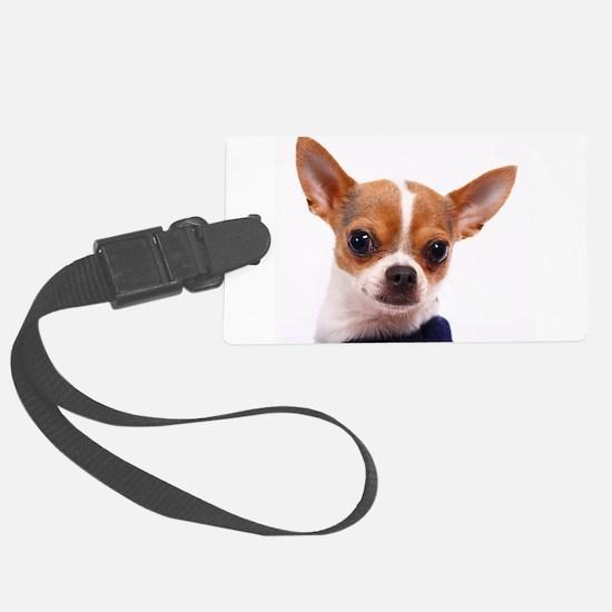 Funny Chihuahua Luggage Tag