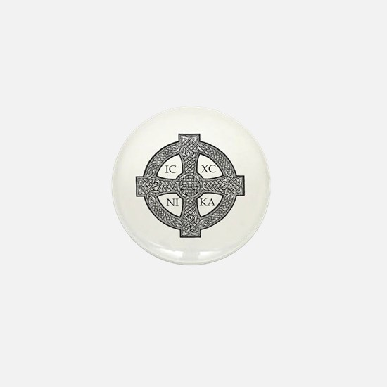 Purdy Cross Mini Button