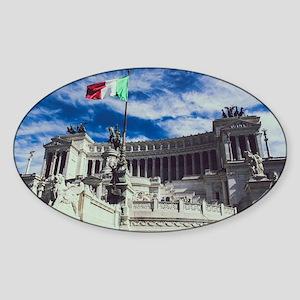Altare Della Patria Sticker (Oval)