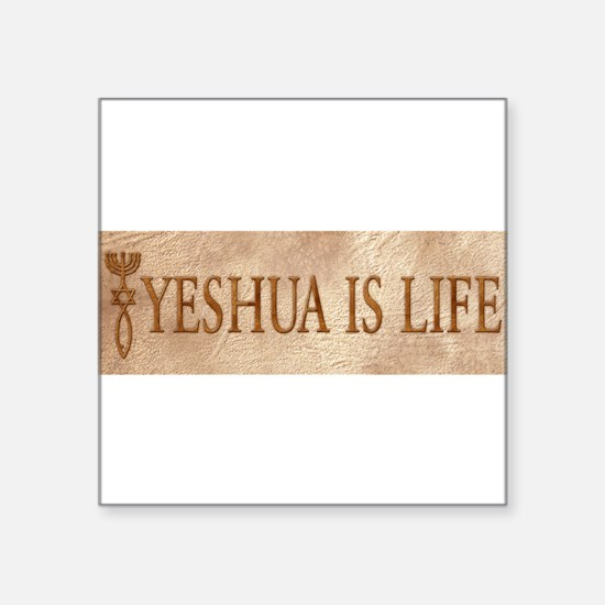 "Cute Messianic Square Sticker 3"" x 3"""
