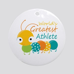 World's Greatest Athlete Ornament (Round)