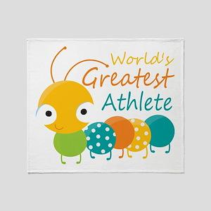 World's Greatest Athlete Throw Blanket