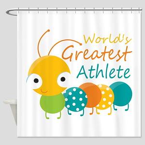 World's Greatest Athlete Shower Curtain