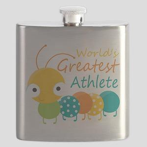 World's Greatest Athlete Flask
