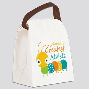 World's Greatest Athlete Canvas Lunch Bag
