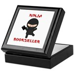 Ninja Bookseller with Book Keepsake Box