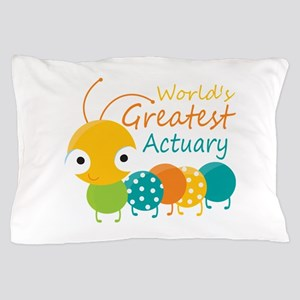 World's Greatest Actuary Pillow Case