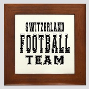 Switzerland Football Team Framed Tile