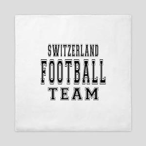 Switzerland Football Team Queen Duvet