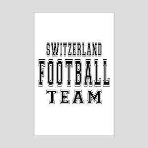 Switzerland Football Team Mini Poster Print
