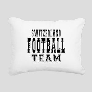Switzerland Football Tea Rectangular Canvas Pillow