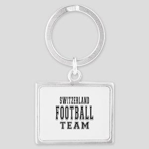 Switzerland Football Team Landscape Keychain