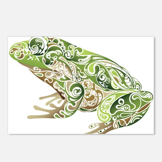 Filligree Frog Postcards (Package of 8)
