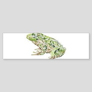 Filligree Frog Bumper Sticker