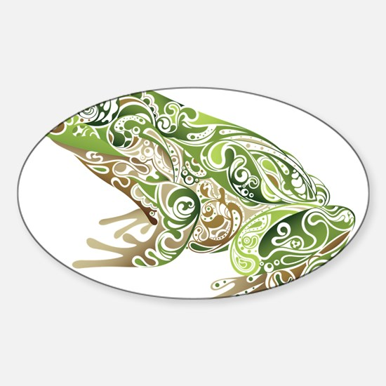 Filligree Frog Decal