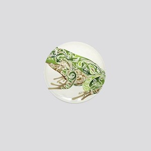 Filligree Frog Mini Button