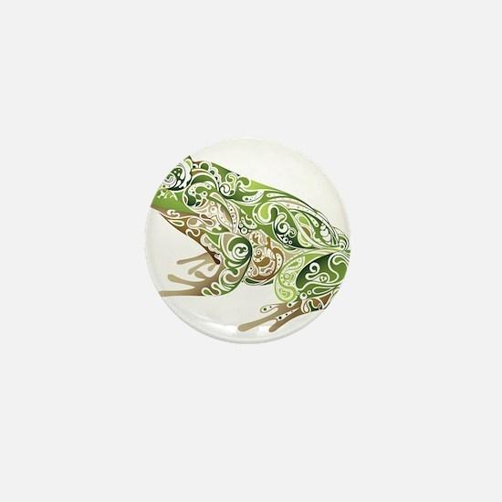Filligree Frog Mini Button