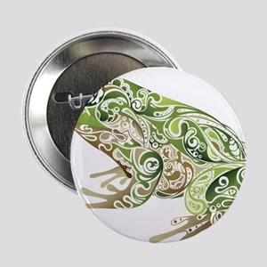 """Filligree Frog 2.25"""" Button"""