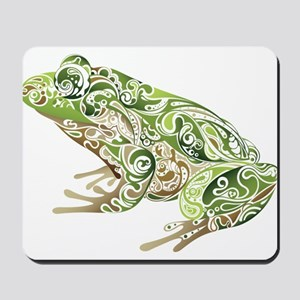 Filligree Frog Mousepad