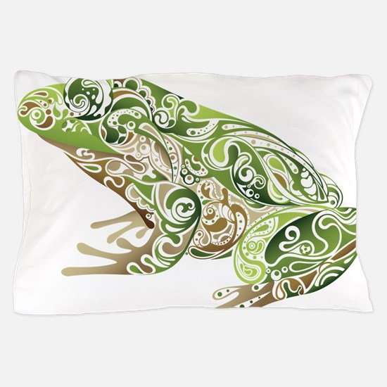 Filligree Frog Pillow Case